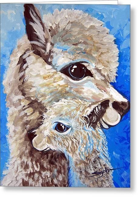 River Ridge Alpaca Greeting Card
