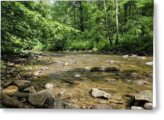 River Rock Shine  Greeting Card