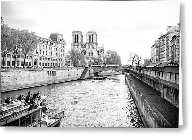 River Seine, Paris Greeting Card