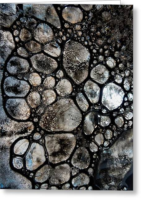 River Stone 14 Greeting Card by Tia Marie McDermid