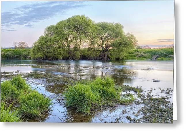River Stour - England Greeting Card by Joana Kruse