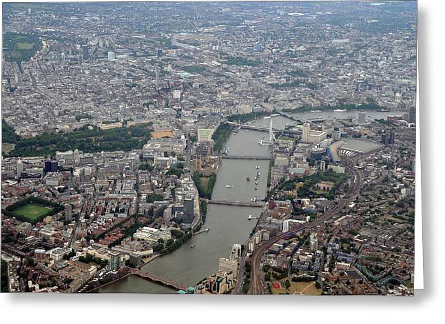 River Thames Greeting Card by Graham Taylor
