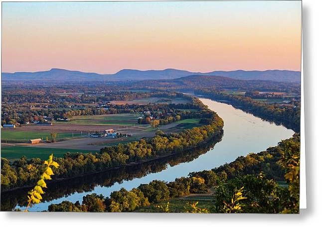 Connecticut River View  Greeting Card