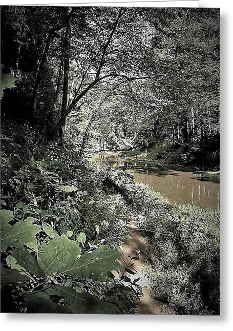 River Walk Greeting Card