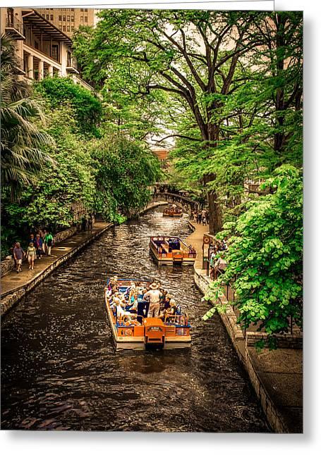 River Walk  Greeting Card by Art Spectrum