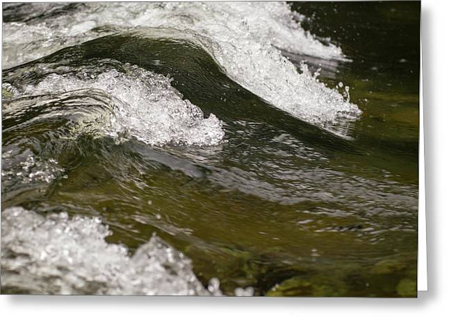 River Waves Greeting Card