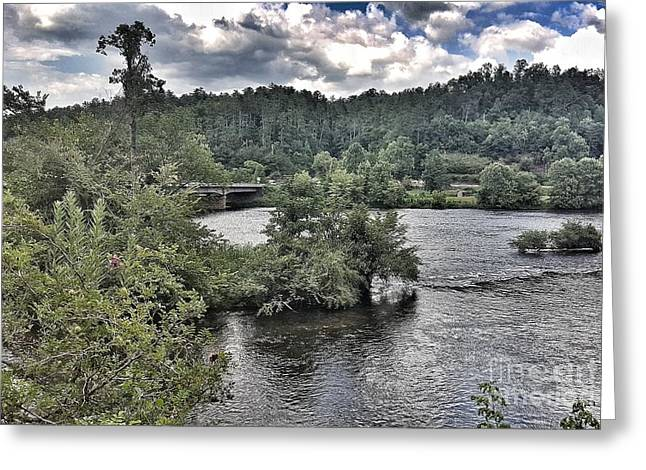 River Wonders Greeting Card
