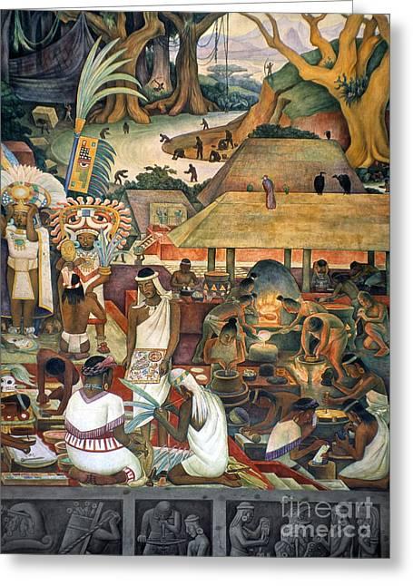 Rivera: Pre-columbian Life Greeting Card