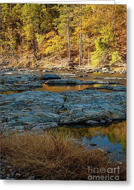 Greeting Card featuring the photograph Riverside by Iris Greenwell