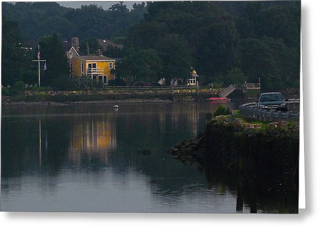 Greeting Card featuring the photograph Riverview Reflections by Margie Avellino