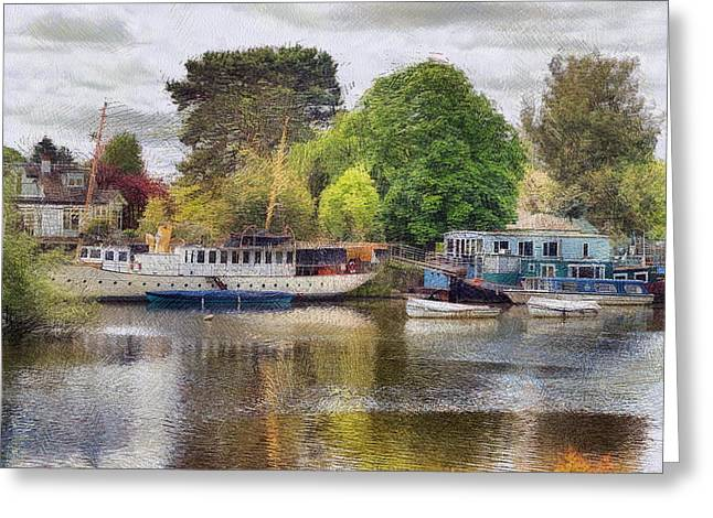 Riverview Vii Greeting Card