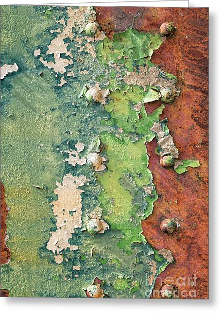 Rivets And Rust Greeting Card