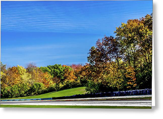 Road America In The Fall Greeting Card