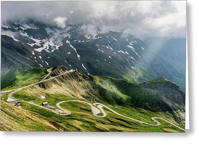 Road Austria Greeting Card