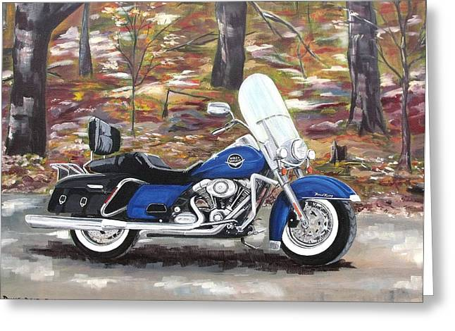 Road King Greeting Card