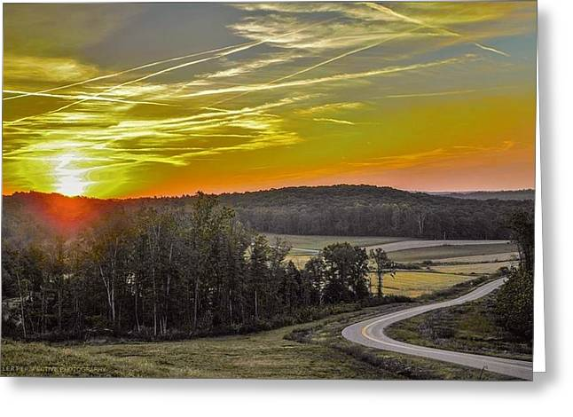 Road To Allegre Greeting Card