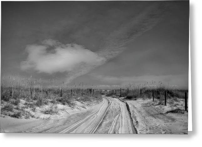 Road To... Greeting Card by Mario Celzner