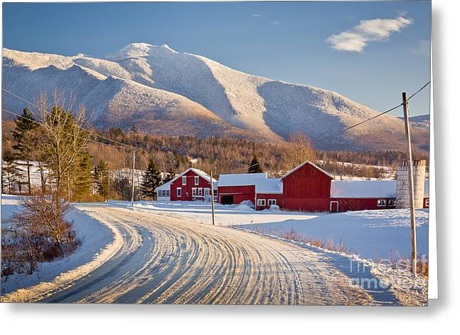 Road To Mount Mansfield Greeting Card