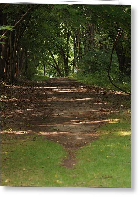 Road To Nowhere Greeting Card by Heather Green