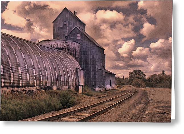 Road To Nowhere Greeting Card by Jeff Burgess