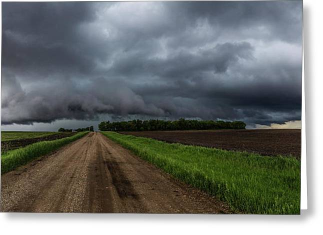 Road To Nowhere - Tornado Greeting Card