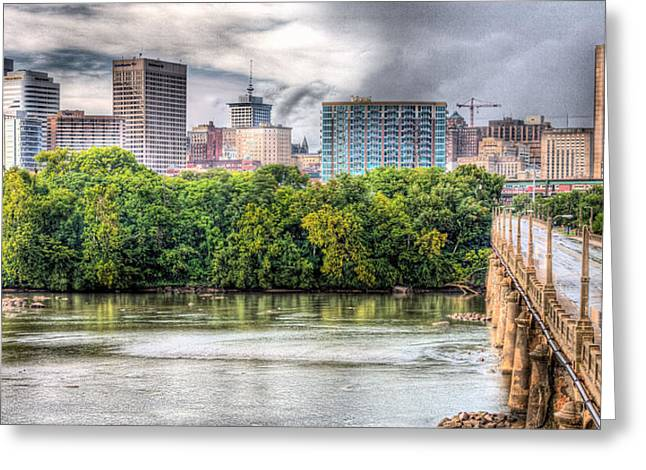 Richmond Va Greeting Cards - Road to Richmond Greeting Card by JC Findley