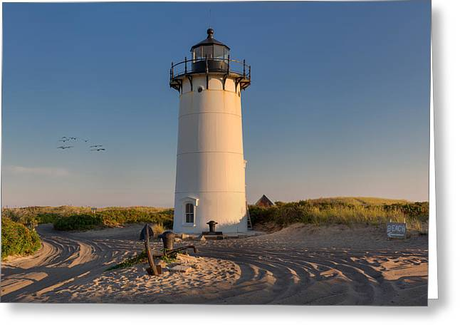 Road To The Beach Greeting Card by Bill Wakeley