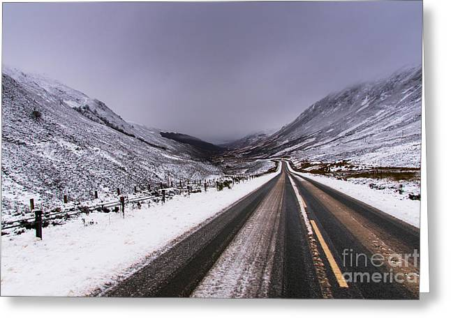 Road To Torridon Greeting Card by Keith Thorburn LRPS