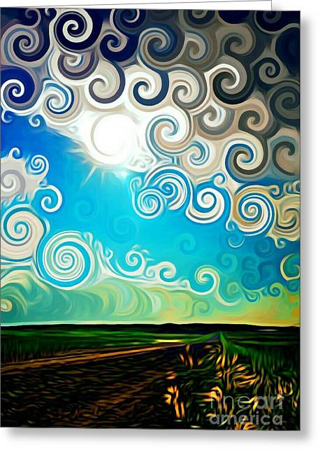 Road To Whimsy Greeting Card