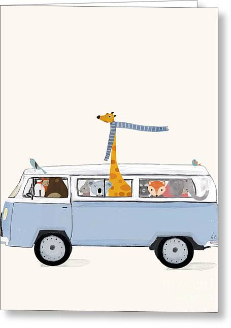 Road Trip Greeting Card
