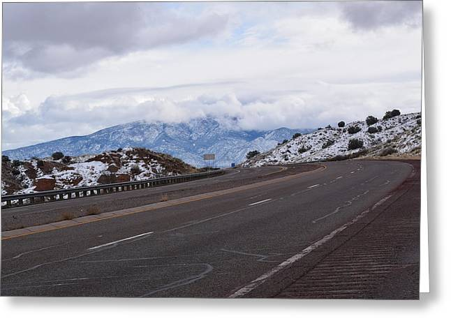 Road View Greeting Card by Curtis Willis