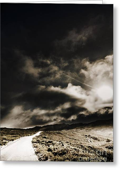 Greeting Card featuring the photograph Roads Of Atmosphere  by Jorgo Photography - Wall Art Gallery
