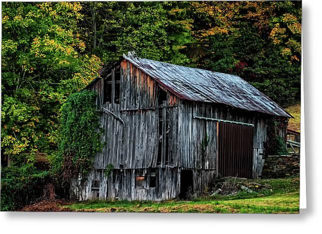 Roadside Barn Greeting Card