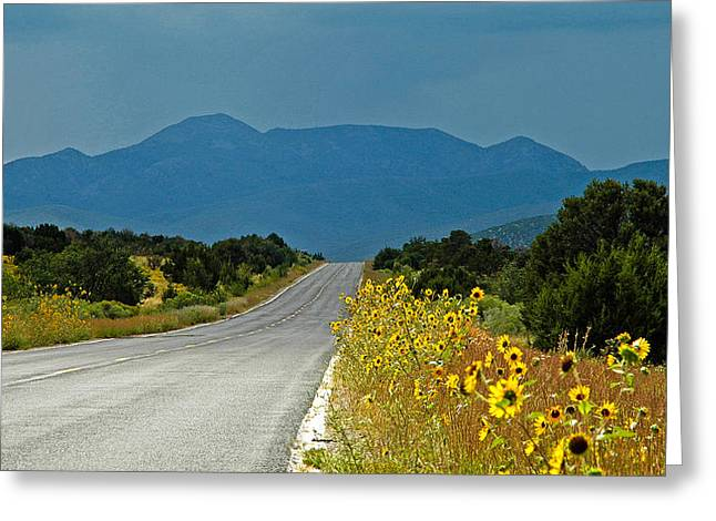 Roadside Florist Greeting Card