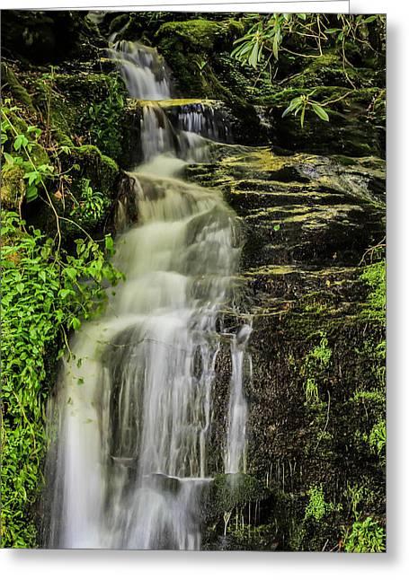Roadside Waterfall Greeting Card