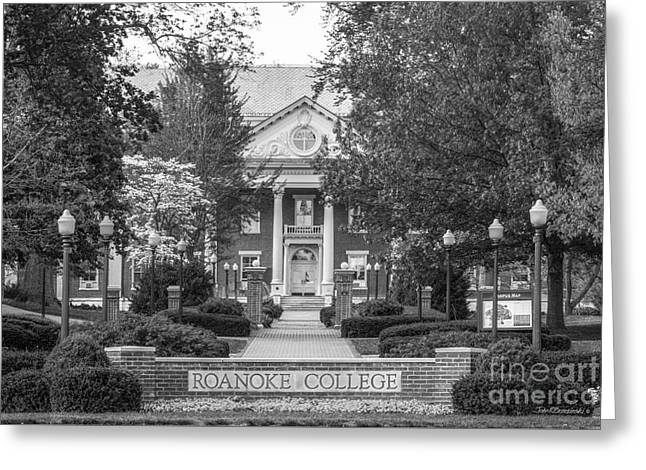 Administration Building Roanoke College Greeting Card by University Icons