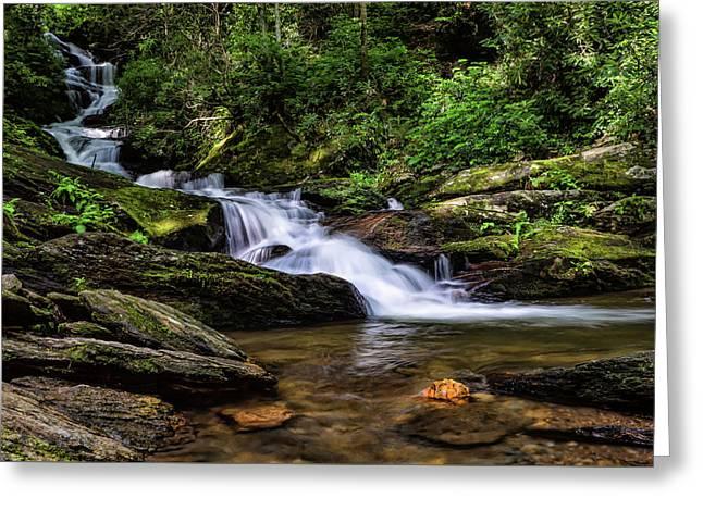 Roaring Fork Waterfall Greeting Card