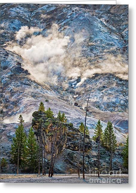 Roaring Mountain Greeting Card
