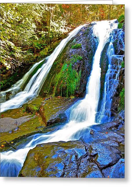 Roaring Run Falls State Park Virginia Greeting Card