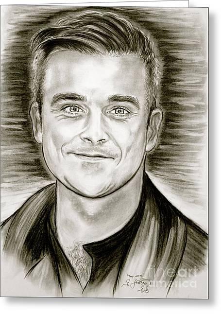 Robbie Williams Greeting Card