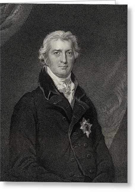 Robert Banks Jenkinson, 2nd. Earl Of Greeting Card