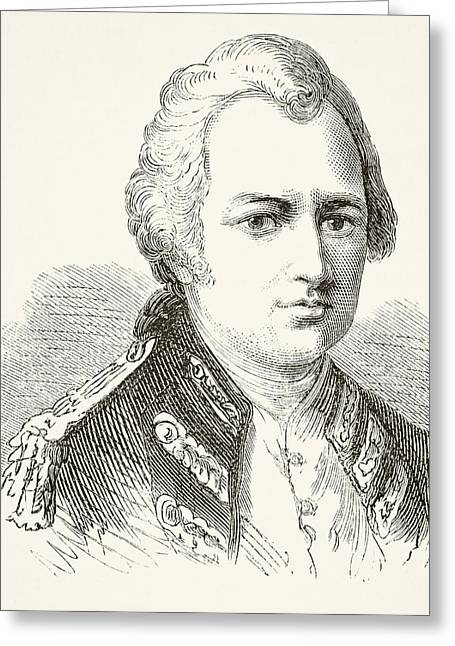 Robert Clive 1st Baron Clive Of Plassey Greeting Card by Vintage Design Pics