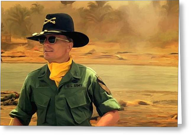Robert Duvall @ Apocalypse Now Greeting Card