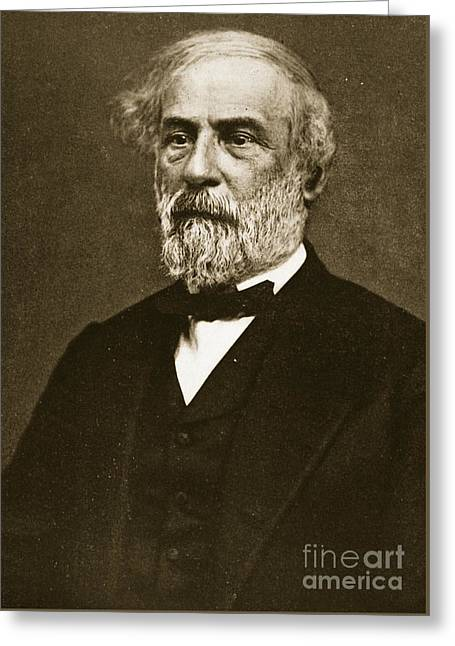 Robert Edward Lee Greeting Card
