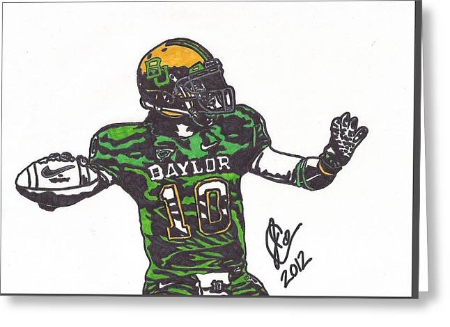 Robert Griffin IIi 1 Greeting Card by Jeremiah Colley
