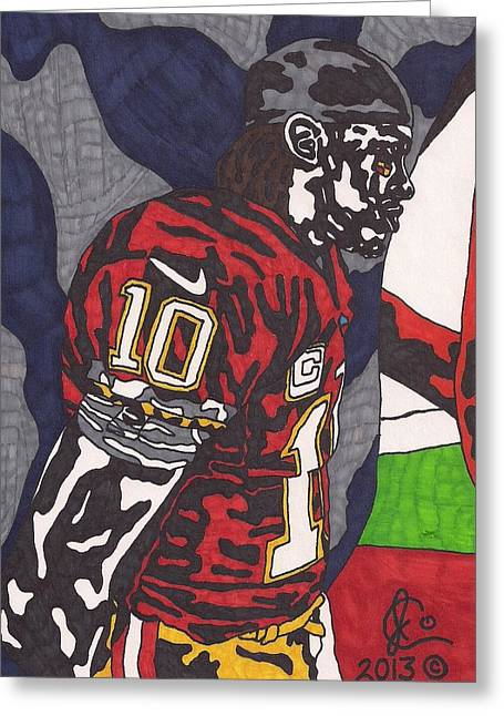 Robert Griffin IIi 3 Greeting Card by Jeremiah Colley
