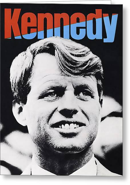 Robert Kennedy Campaign Poster Greeting Card by Daniel Hagerman