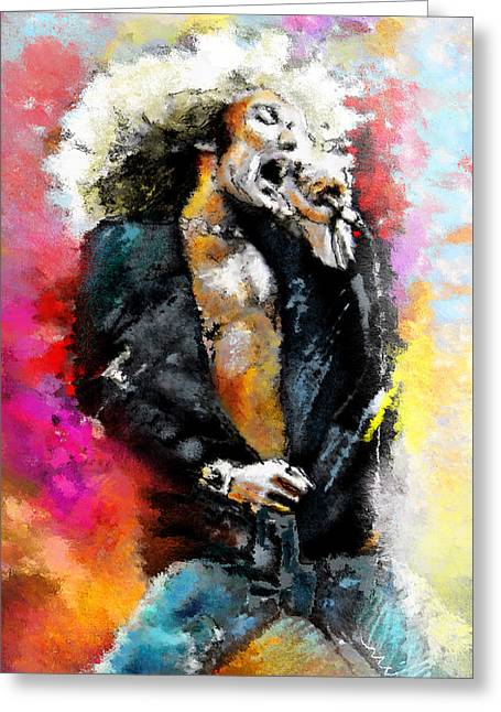 Robert Plant 03 Greeting Card