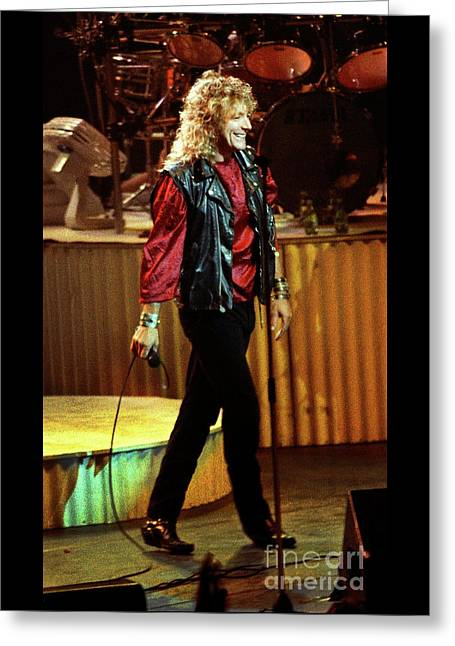 Robert Plant-88-3222 Greeting Card
