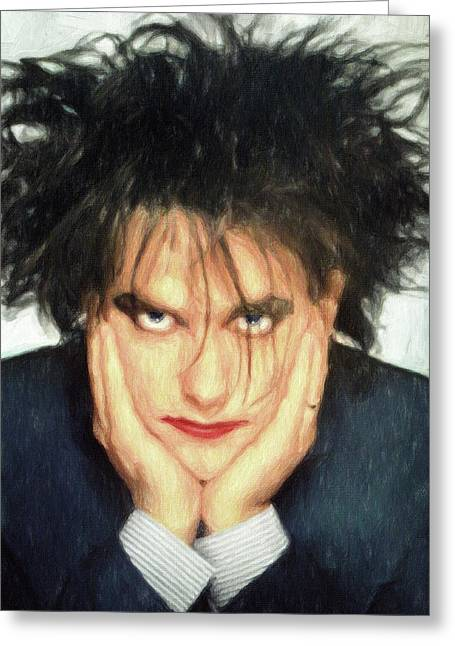 Robert Smith Greeting Card